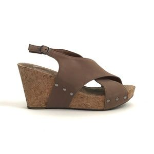 Lucky Brand Wedge Heel Sandals Size 10